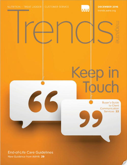 Our December Trends Magazine Cover Story: Subscription-Based Client Communication Services